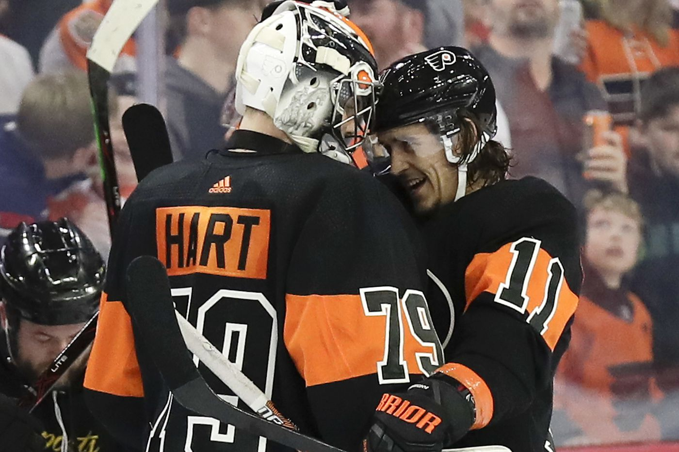 Travis Konecny's goal gives Flyers a 6-5 OT win over Detroit