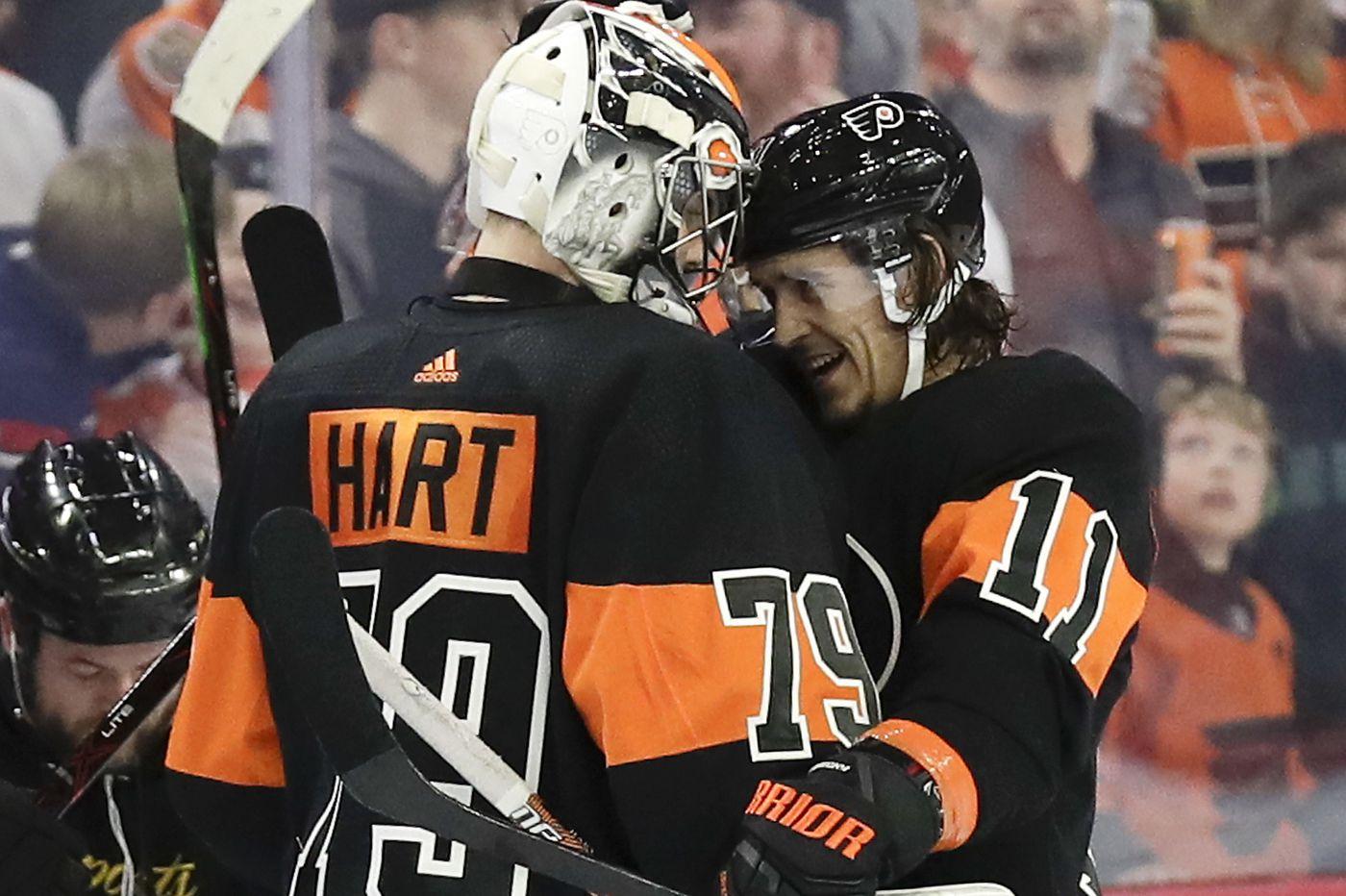 Carter Hart making strides toward return; Flyers opening in Prague next season?
