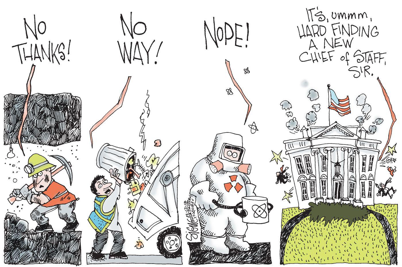 Trump Chief of Staff Hiring Complications