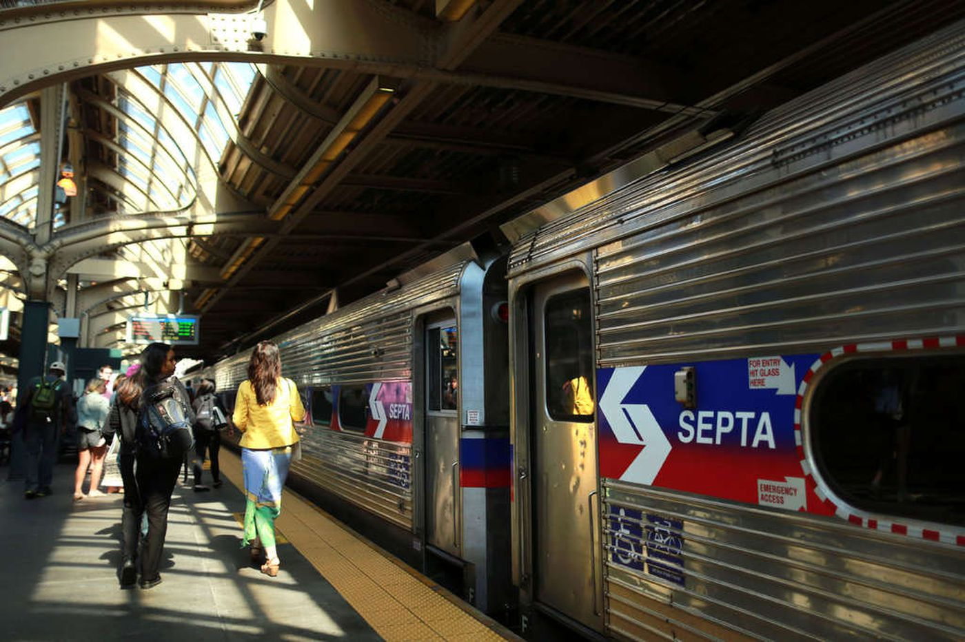 Ticket taking, Key card scanning: Coronavirus prompts SEPTA to reinforce best practices on Regional Rail