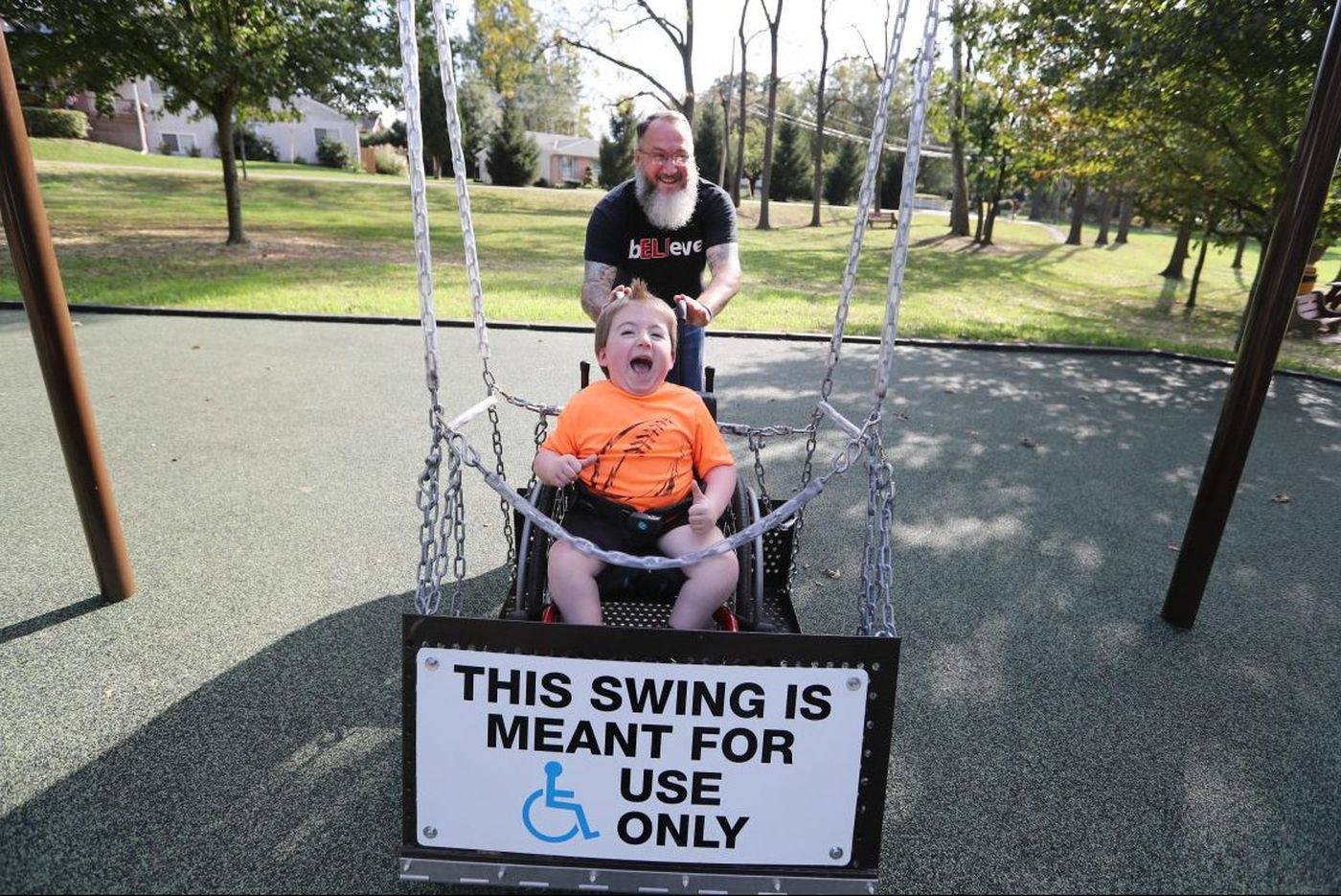 All-abilities dream playground opens in Chesco