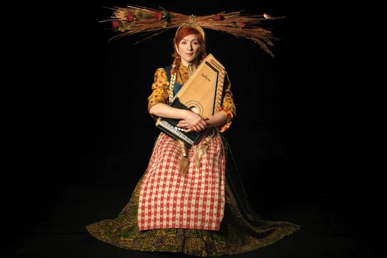 "Still from Suzanne Bocanegra's video ""Lemonade, Roses, Satchel"" at Fabric Workshop."