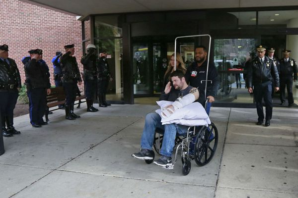 Wounded Officer Hartnett to be group's Man of the Year