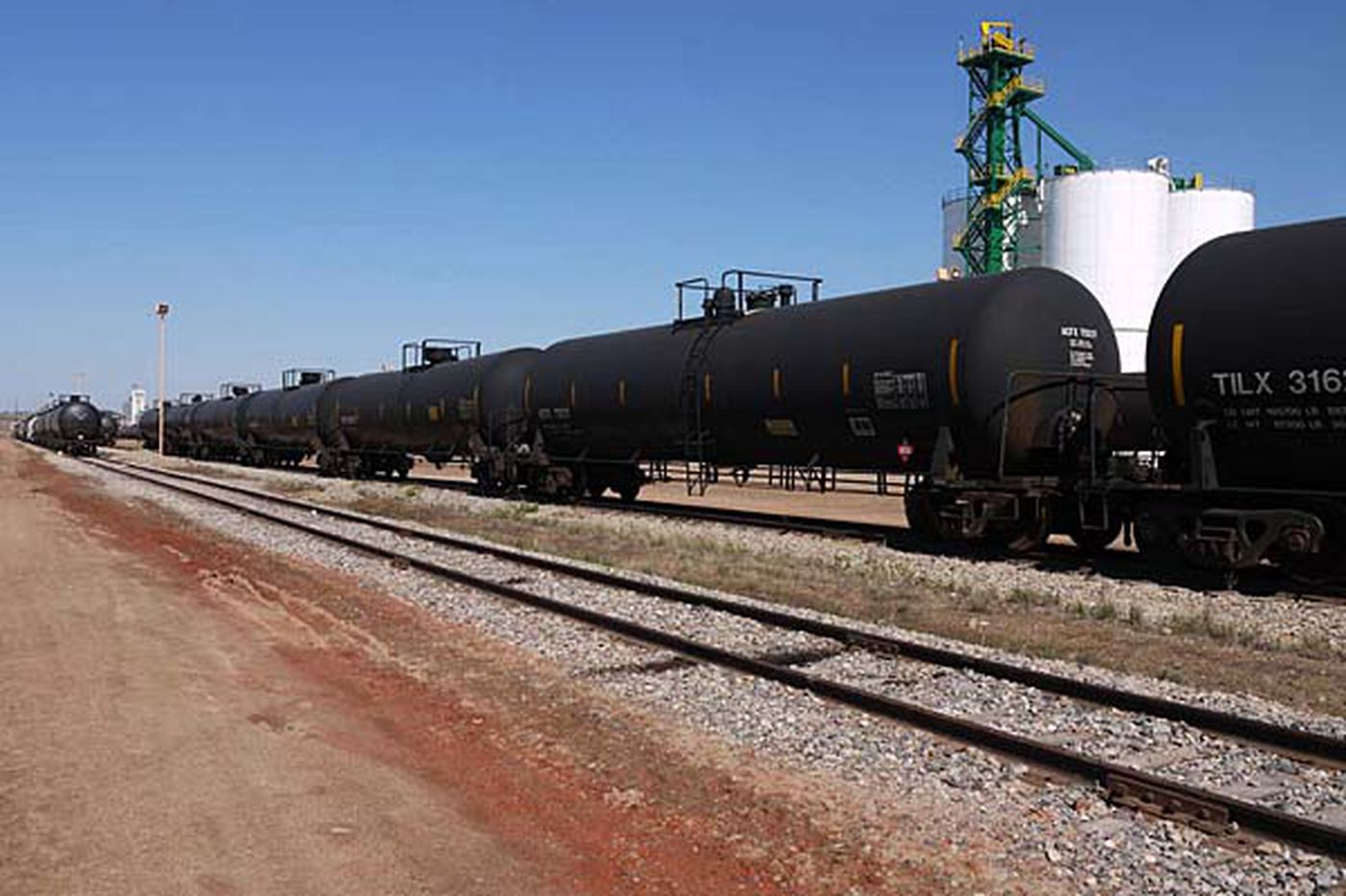 Mystery of the unexploded oil train