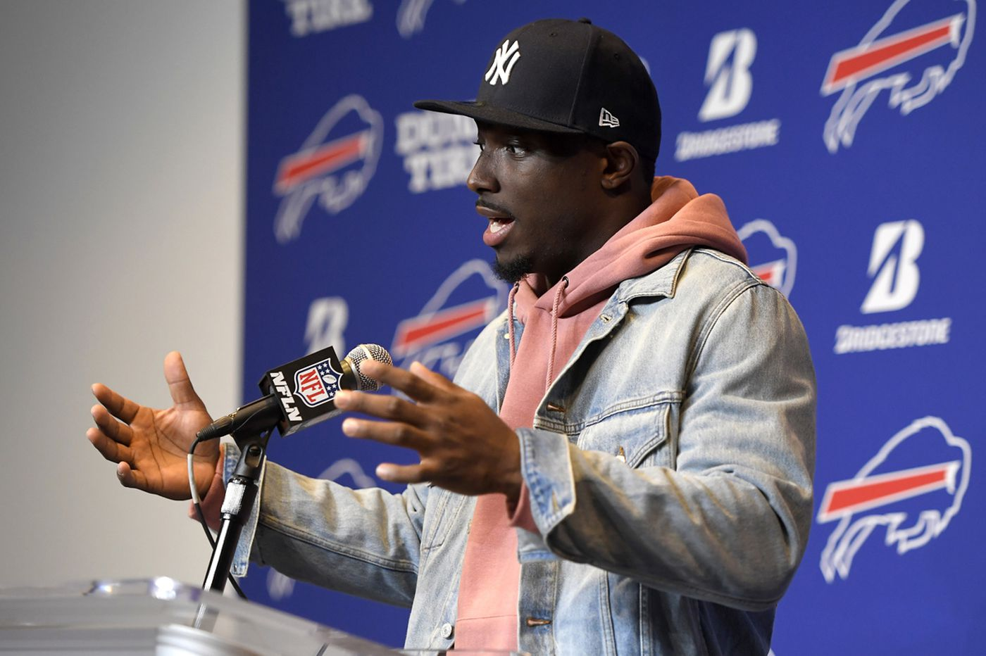 LeSean McCoy, Bills coach Sean McDermott discuss Eagles trade rumor