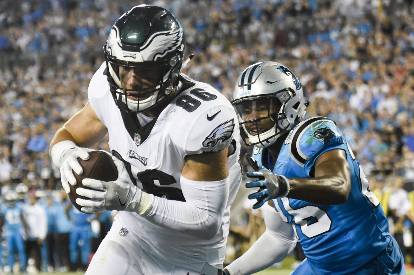 Sources: Eagles to trade WR Torrey Smith to Carolina for CB Daryl Worley, a Philly native