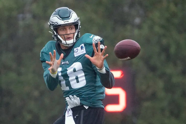The wait for Mack Hollins to develop into a productive player in Philadelphia ended on Tuesday, when the Eagles released him and his career total of 26 receptions for 351 yards.