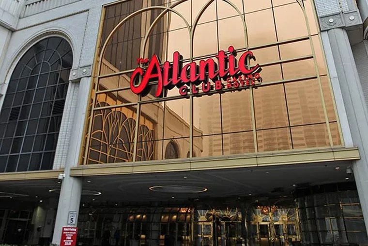 Exterior of the Atlantic Club hotel and casino. (Michael Bryant / Staff Photographer)