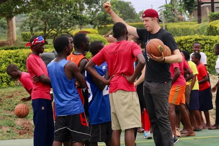 Eagles backup QB Nate Sudfeld doing charity work in Uganda