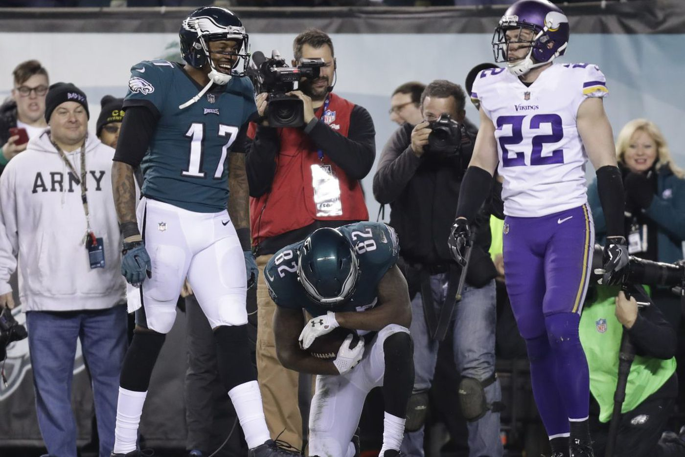 Vikings blindsided by Eagles' defense in NFC championship game blowout