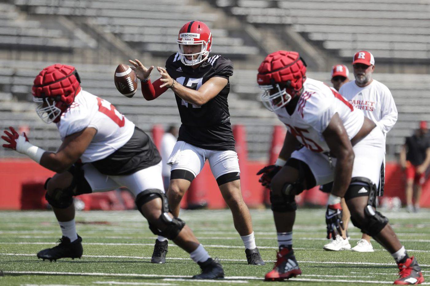 Seems Rutgers has a new starting QB | Big Ten notes