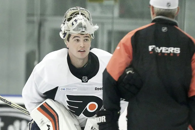 Goalie Alex Lyon has an NHL contract and says he's in a better position than some of his AHL teammates.