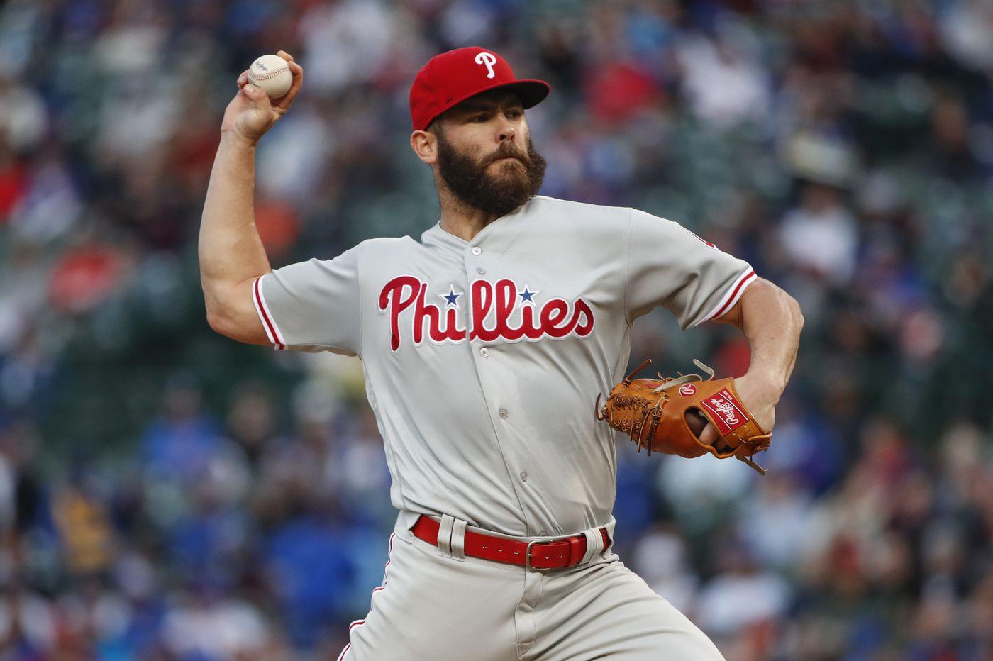 Phillies beat Brewers behind Jake Arrieta's impressive eight innings