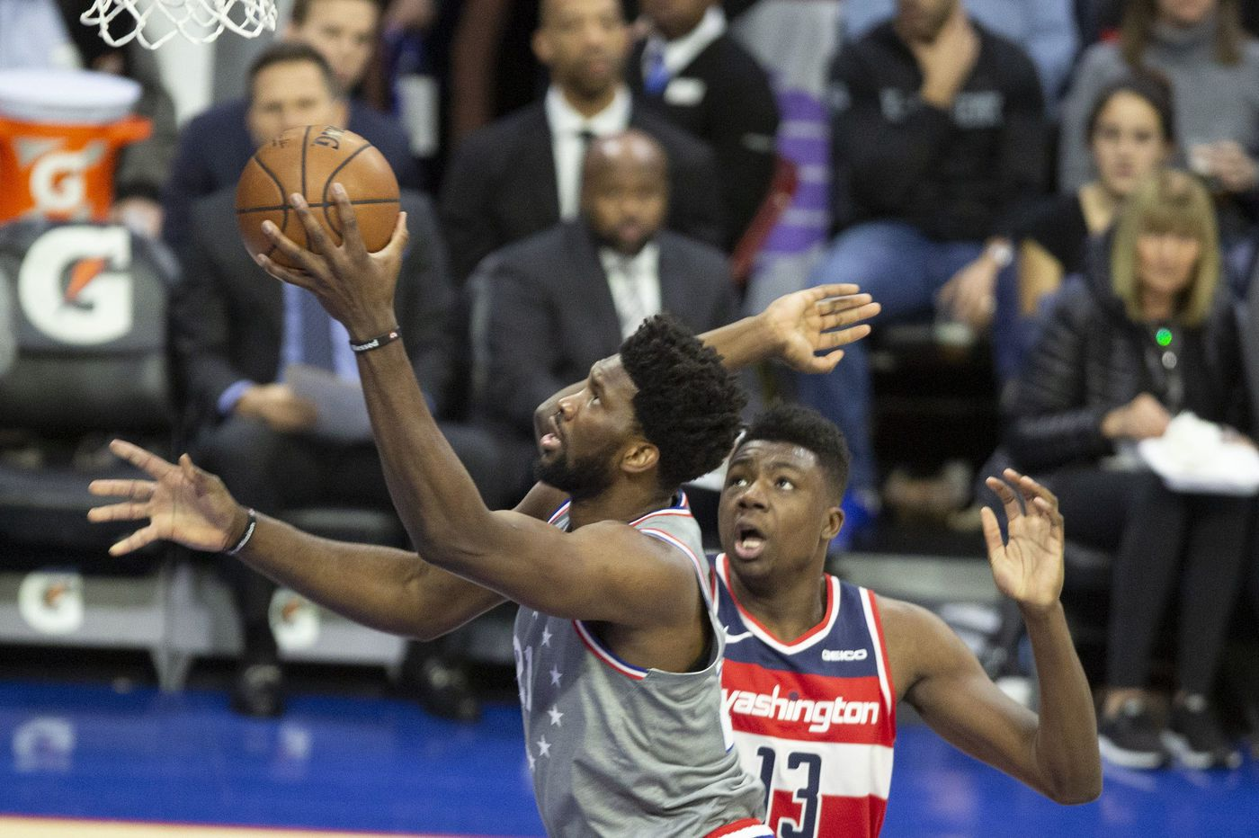 Joel Embiid, Ben Simmons shine in Sixers' blowout victory over Wizards
