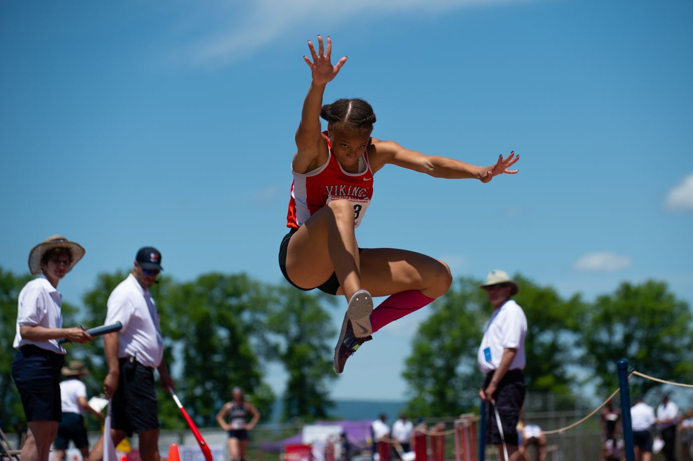 PIAA state track and field championships: Perkiomen Valley's Christina Warren wins third straight triple jump crown