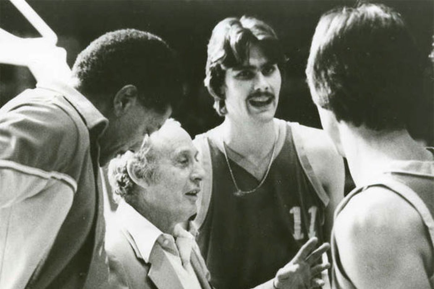 Louis Herman 'Red' Klotz, basketball player, coach and team owner
