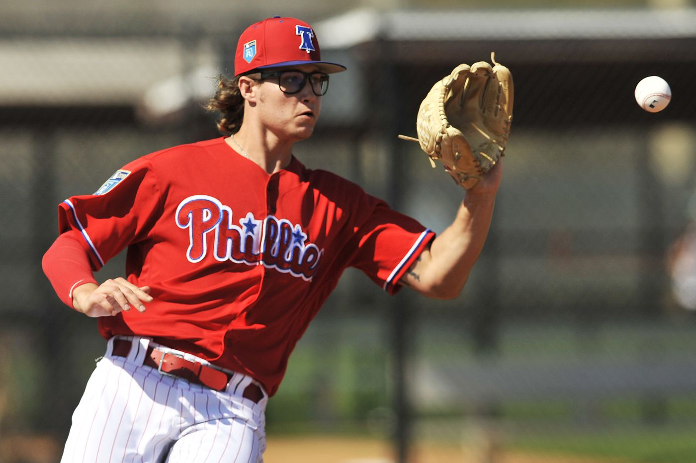 Phillies promote prospect J.D. Hammer and his signature glasses