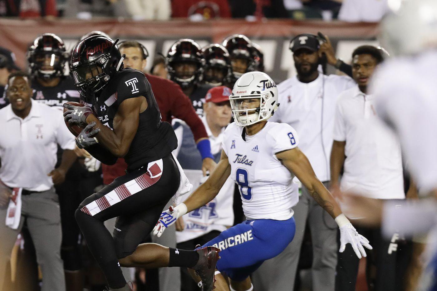 Temple rides Ryquell Armstead, aggressive defense to conference win over Tulsa