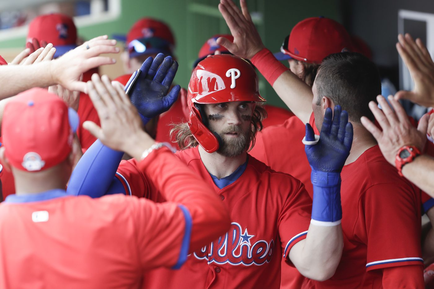 As Phillies take MLB-mandated coronavirus precautions, Bryce Harper's daily routine remains unchanged