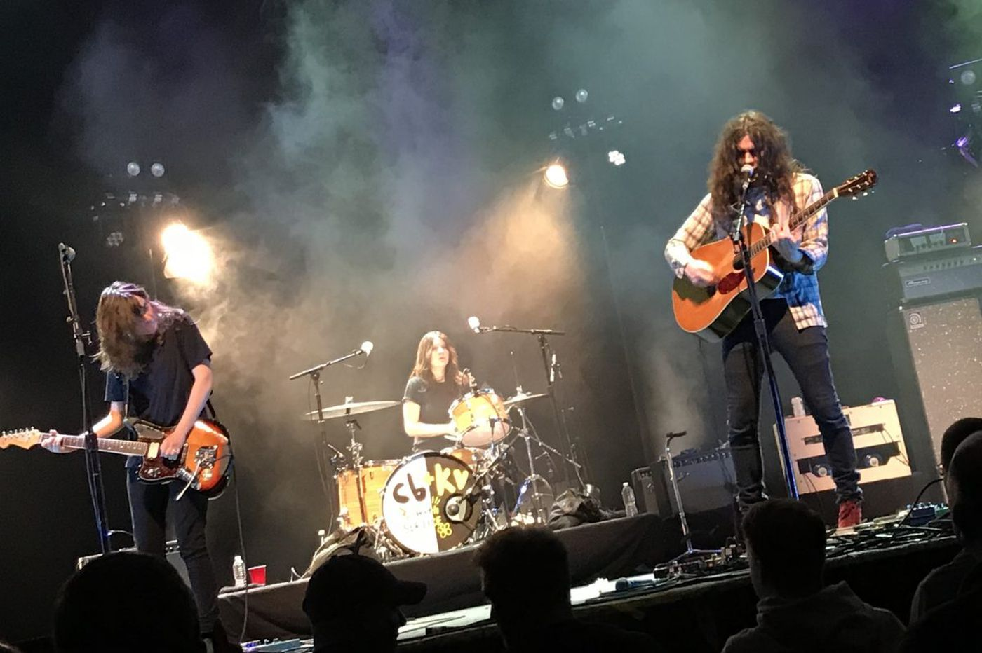 Watch Kurt Vile and a Tower Theater crowd sing 'Happy Birthday' to Courtney Barnett