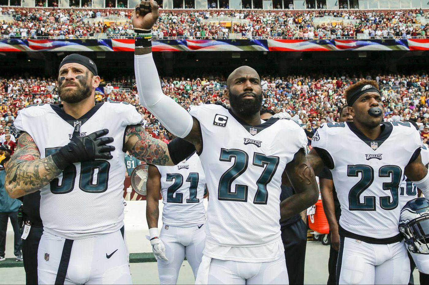Sports media wrong to glorify athletes who snub national anthem