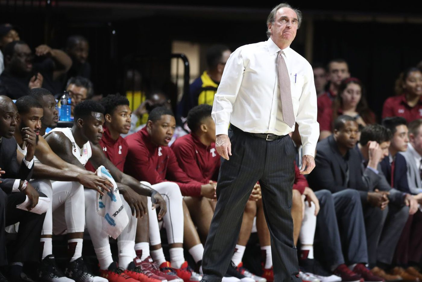 Temple's Fran Dunphy to step down after 2018-19 season; Aaron McKie will succeed him