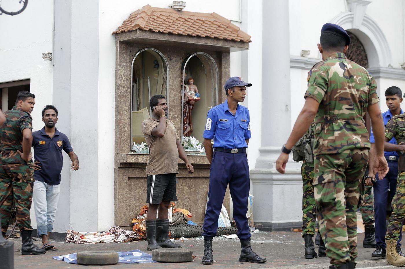 Explosions kill hundreds in Sri Lanka on Easter Sunday