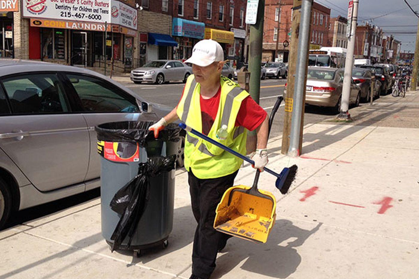 West Passyunk Avenue cleans up