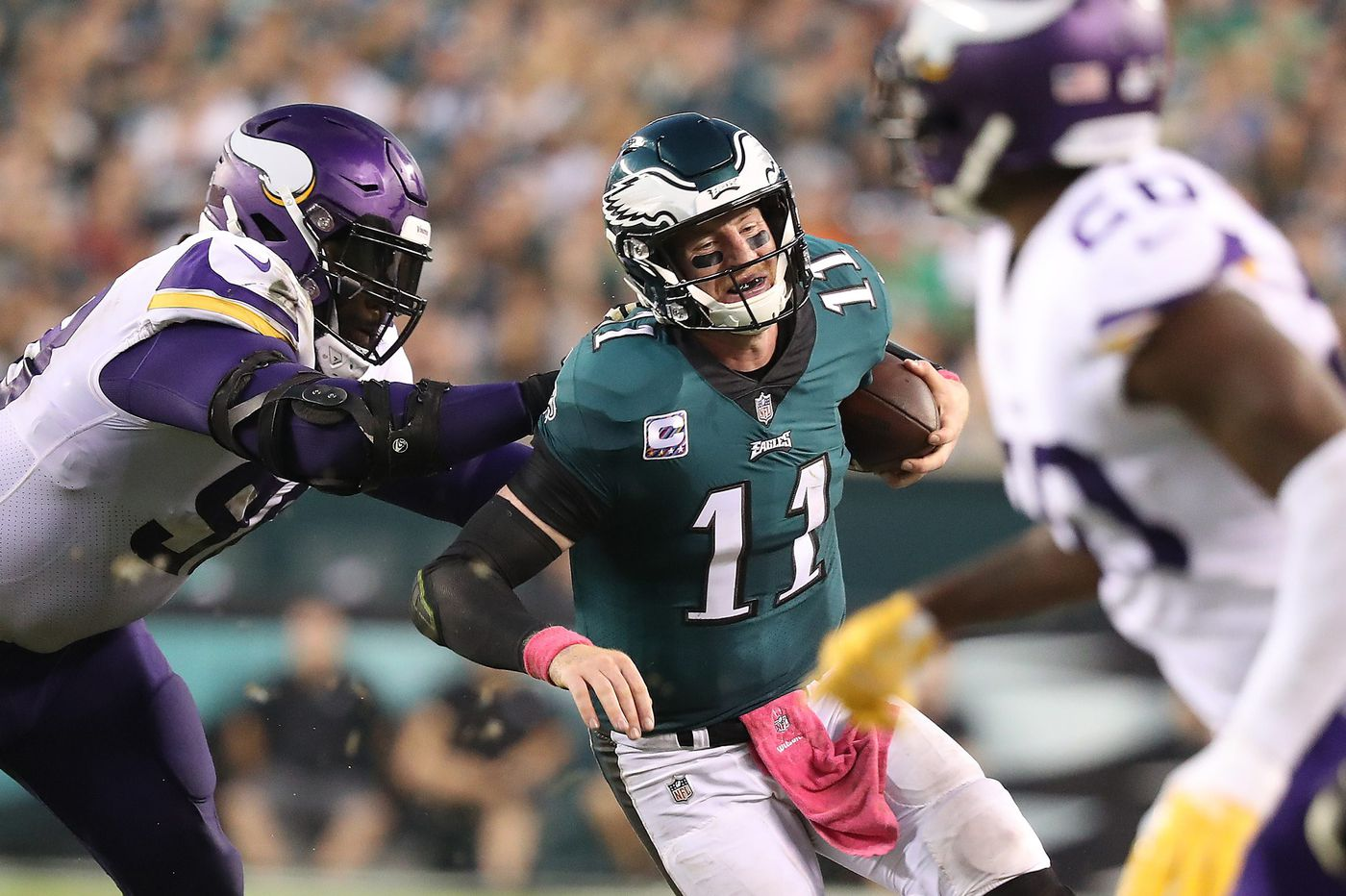 The Eagles' fastest fix? That's easy: Carson Wentz has to be himself again | Mike Sielski