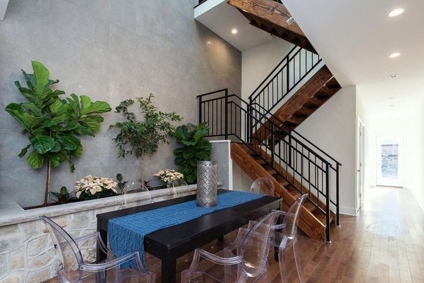 On the market: East Falls rowhouse with a three-story atrium for $699,000