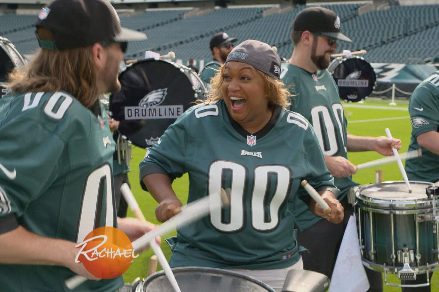 Philadelphia Eagles' drumline to be featured on the Rachael Ray Show on Friday morning