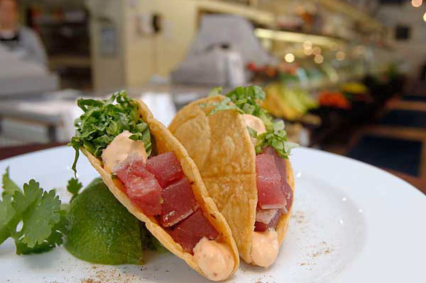 GoodTaste: Sashimi tuna tacos at Ippolito's