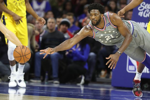 Sixers lose to Pacers, waste Joel Embiid's 40-point, 21-rebound performance