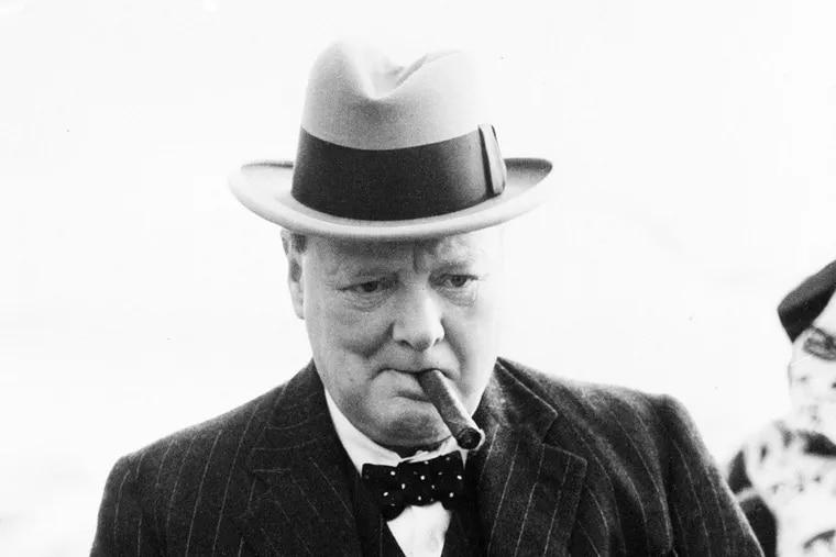 As this Aug. 23, 1939  photo shows, Winston Churchill enjoyed a good cigar.