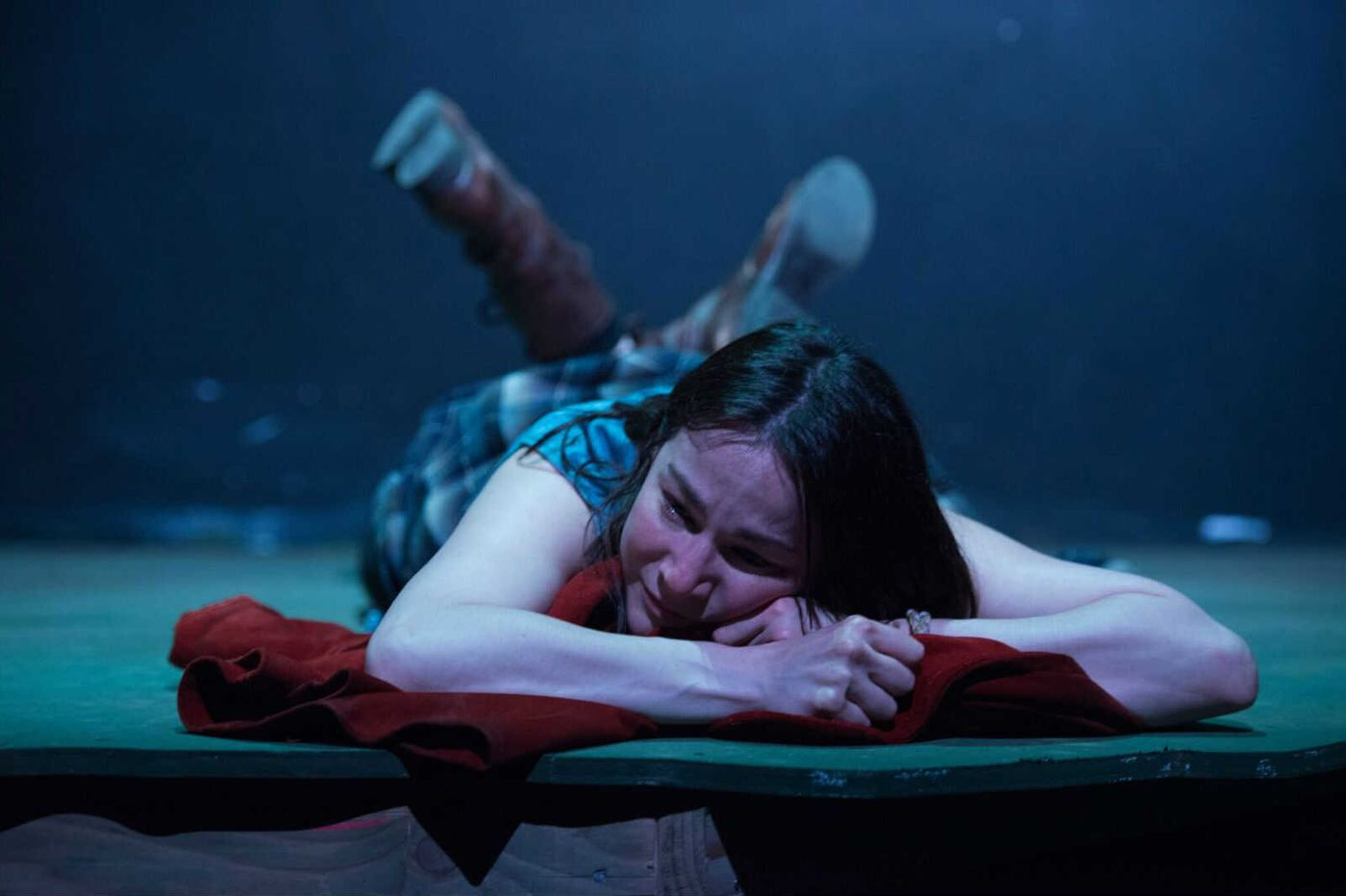 Jacqueline Goldfinger's 'The Arsonists' burns brightly in its premiere at Azuka Theatre.