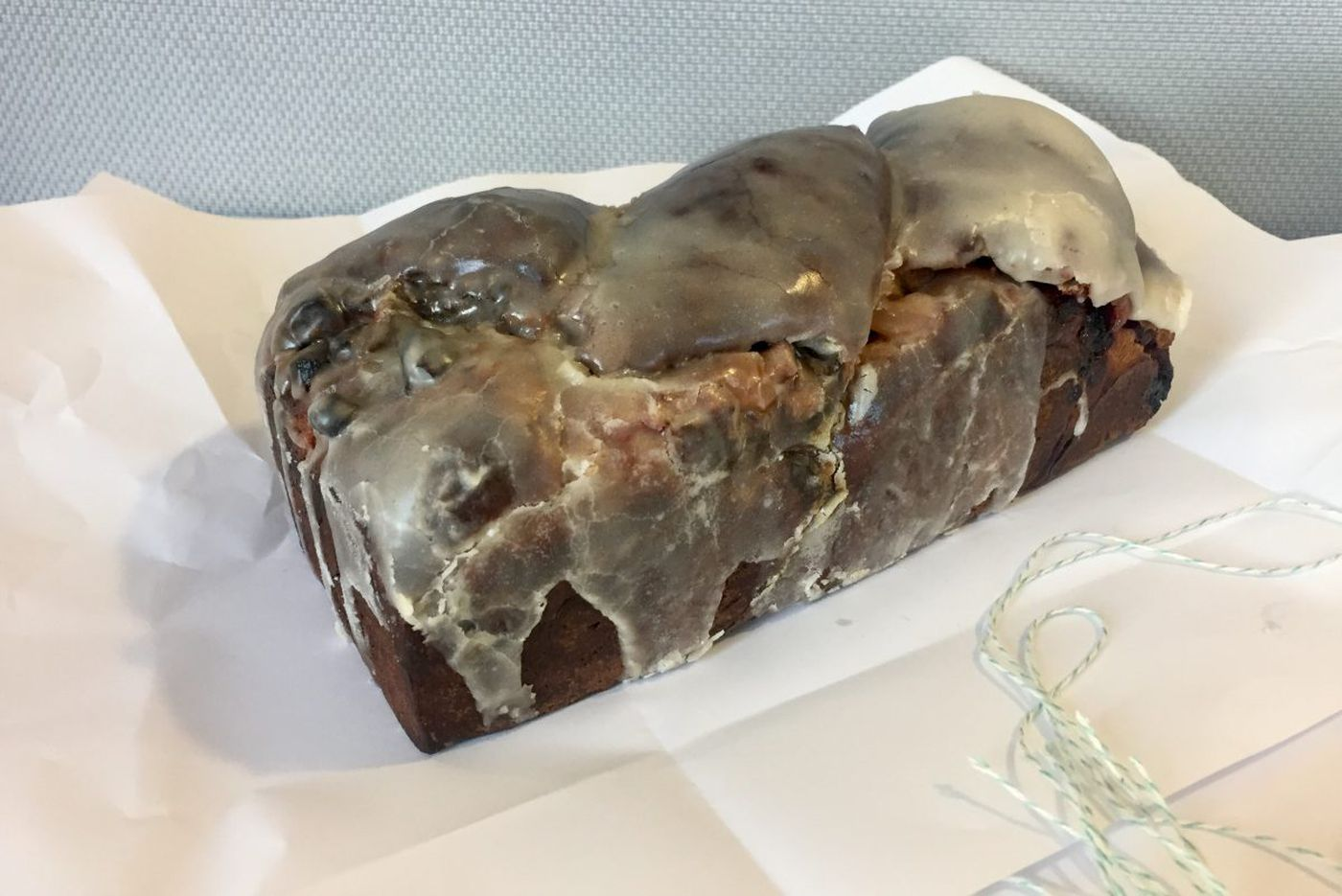 Walnut Street Cafe's holiday babka with cranberries and candied orange