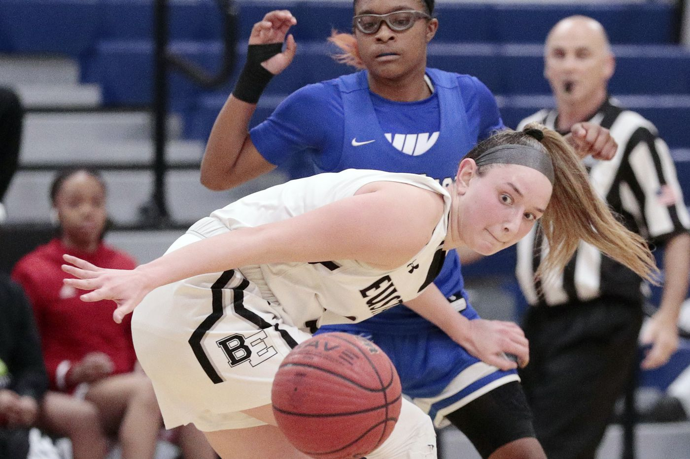 Bishop Eustace girls shine as bright as their neon sneakers in win over Westampton Tech