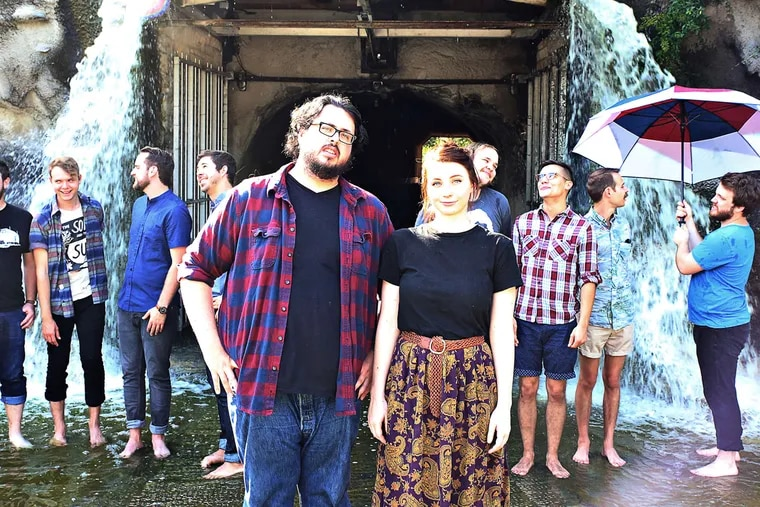 The Oh Hello's Tyler and Maggie Health and friends. The Texas folk-pop duo bring their Christmas show to Union Transfer on Friday, with bad jokes, sing-alongs, line dancing, and a taste of their faith.