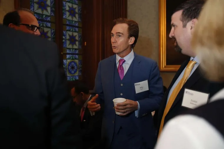 Pennsylvania Lt. Gov. Mike Stack III at the University of Pennsylvania Breakfast Reception at The Penn Club in New York City on Dec. 2, during the Pennsylvania Society weekend.