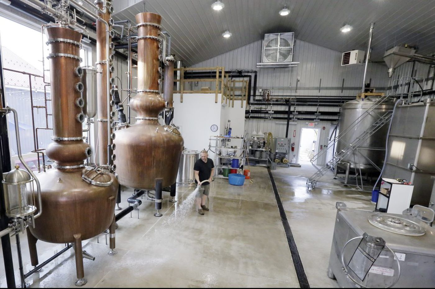 Farm-to-bottle: Craft distillery making vodka from Jersey sweet potatoes at the Shore
