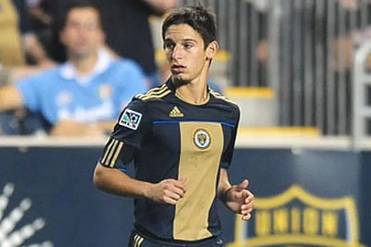 Zach Pfeffer is the newest - and youngest - Union player. (Union Photo)