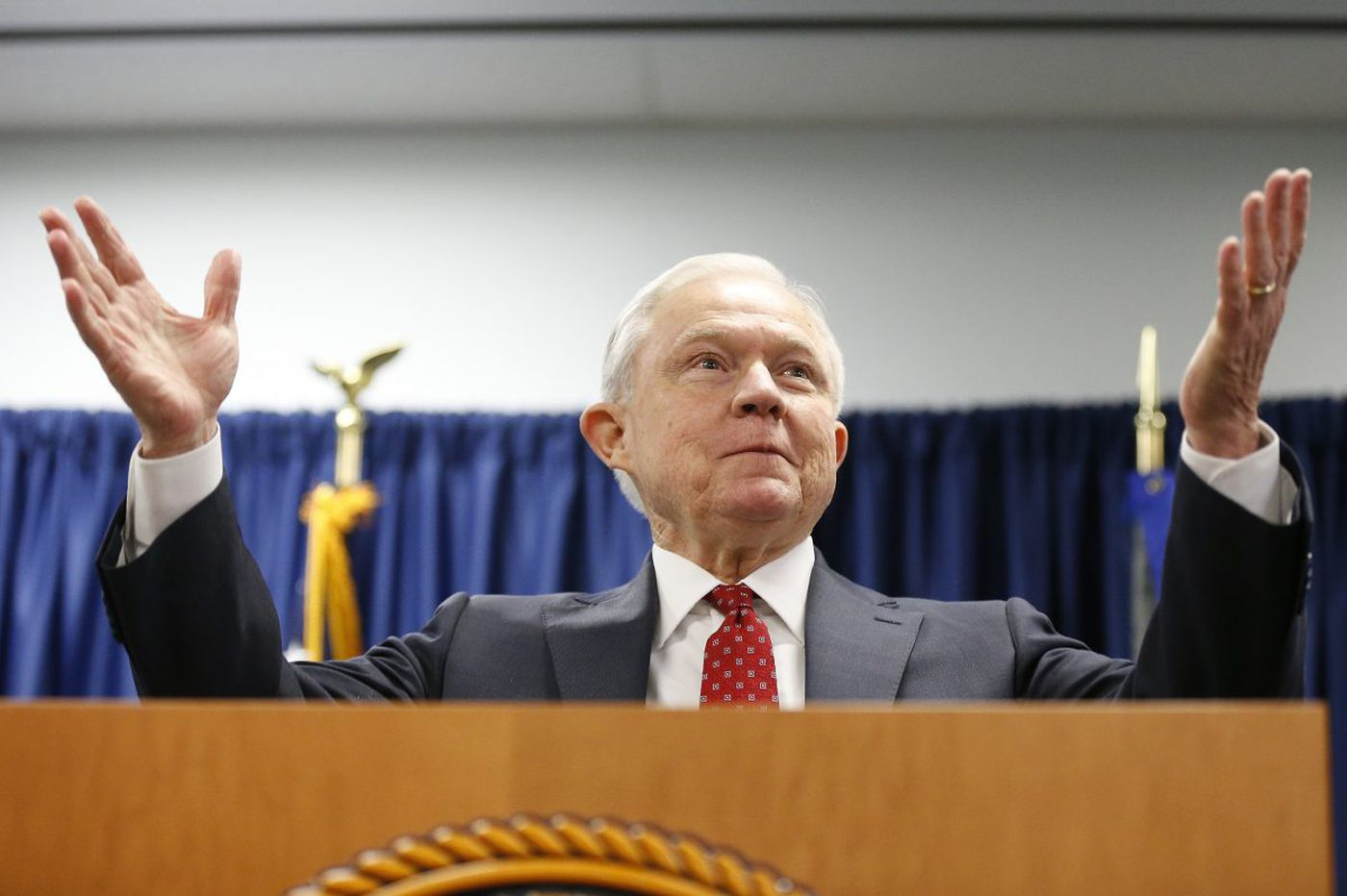 Jeff Sessions blasts 'sanctuary cities' in Philly appearance