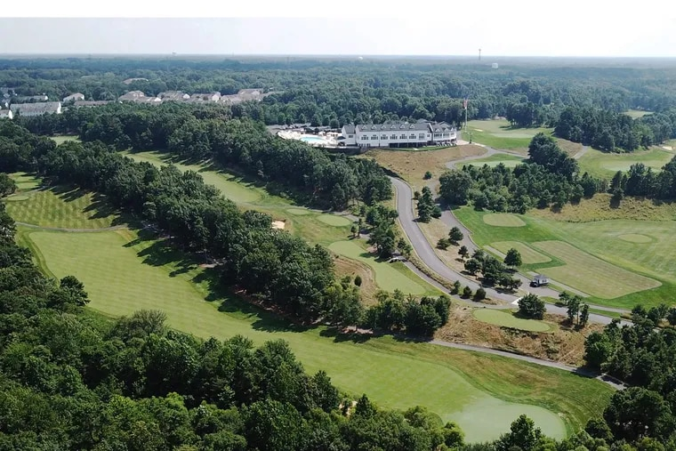 """Trump National Golf Club Philadelphia makes up most of the Pine Hill, N.J., Census tract designated as a """"Qualified Opportunity Zone"""" under part of the federal tax-cut signed into law in December."""