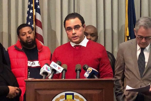 Dominican association's bodega owner promises to stop selling toy guns - and asks others to do the same