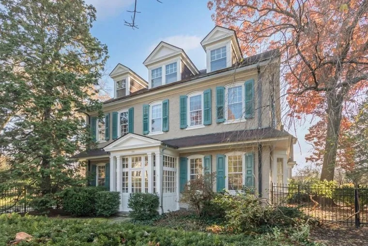 326 W. Allens Lane, Mount Airy, is on the market for $1,275,000. The house, which has six bedrooms and five baths, was formerly an inn.