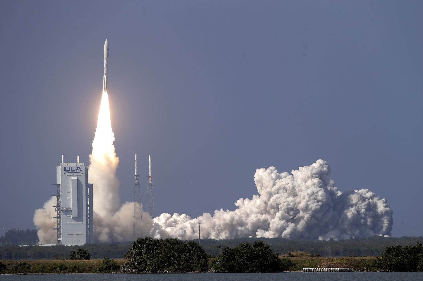 Space Force launches its 1st mission with coronavirus precautions