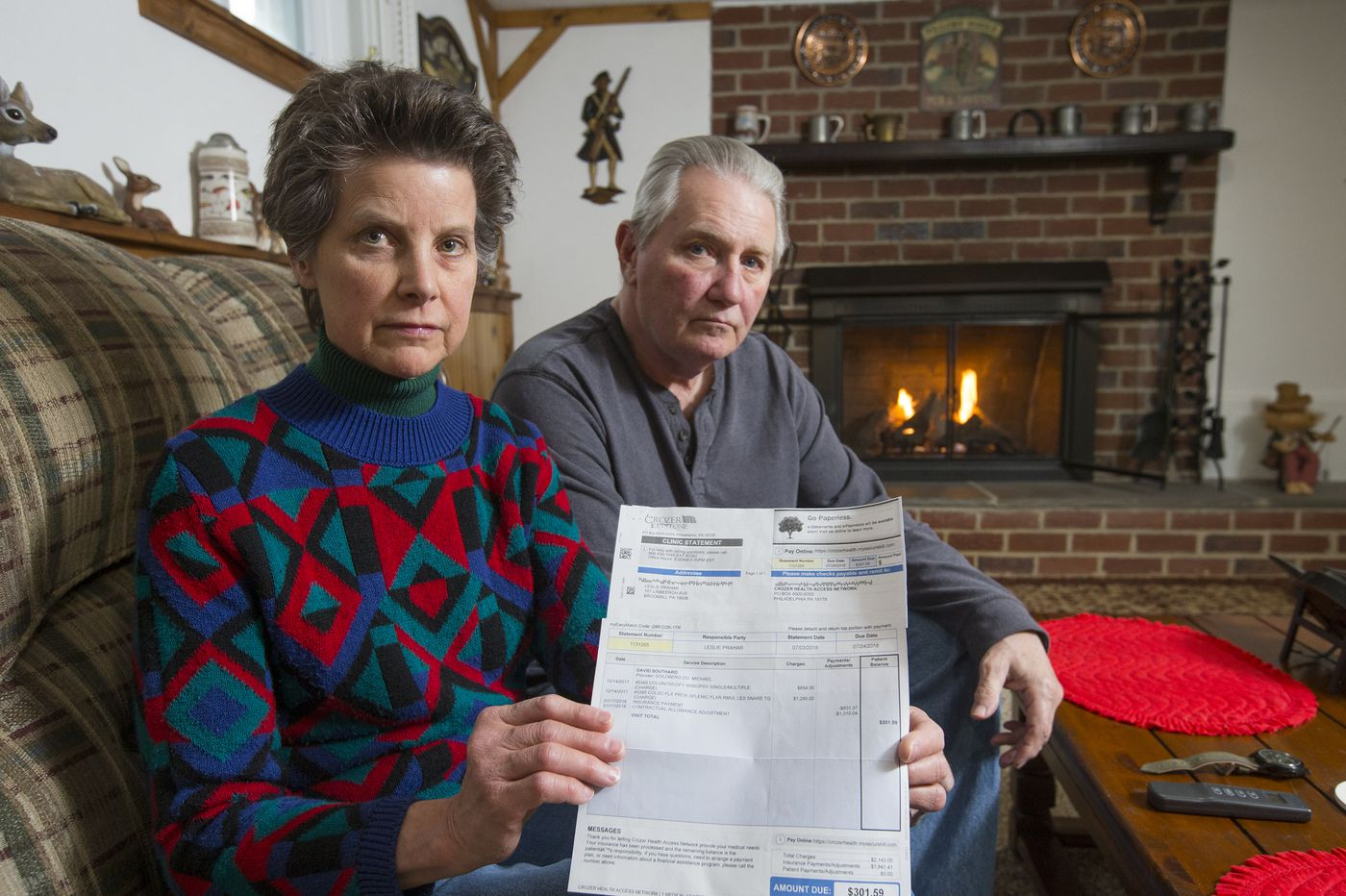 'Paid in protest' - Pa. couple's seven-month attempt to correct a colonoscopy bill