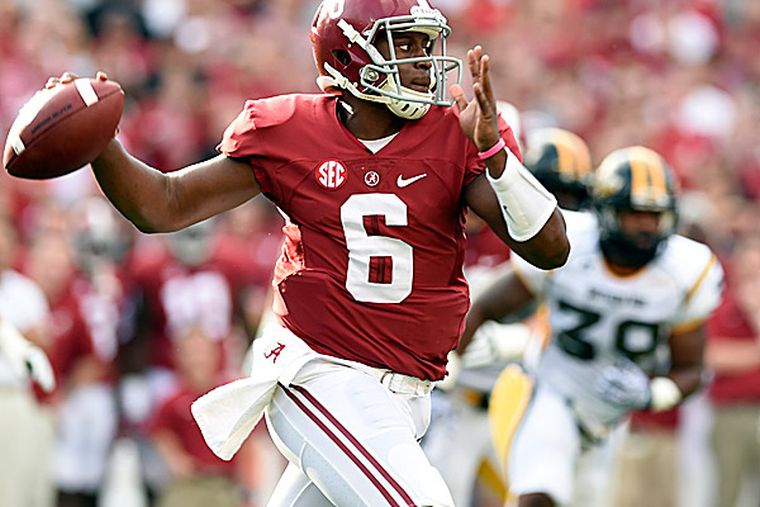 At least for now, Sims is the No. 1 quarterback for Alabama