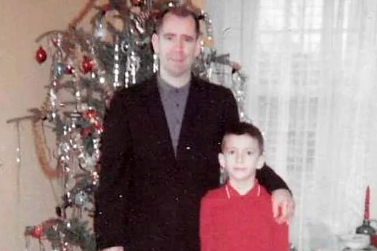 The young Tom Wilk with his father, Thomas Wilk Jr.