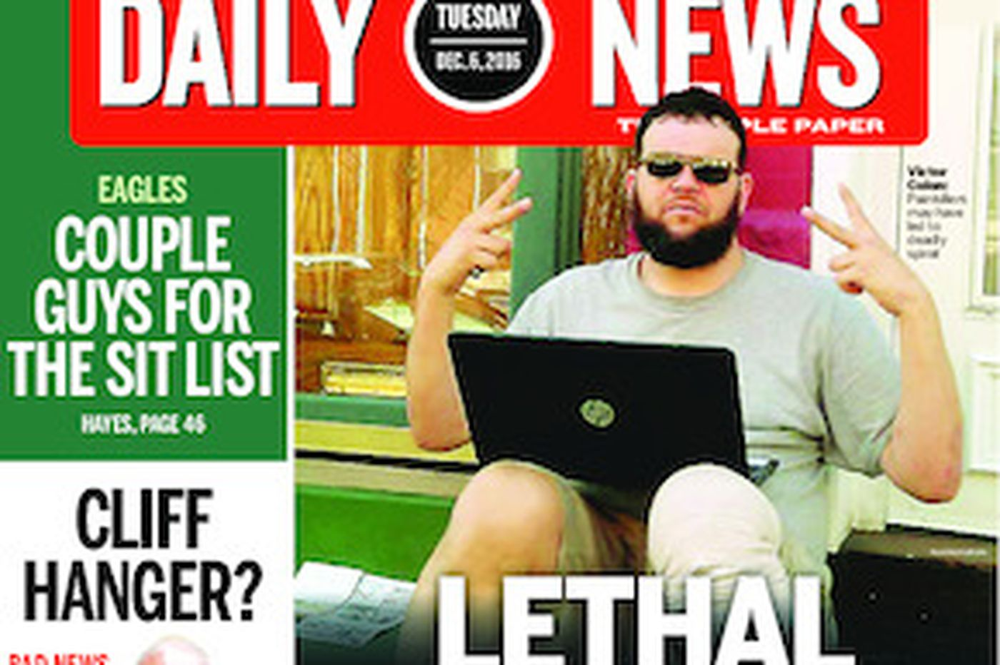 Dailynews Monthly Covers 12/06/16